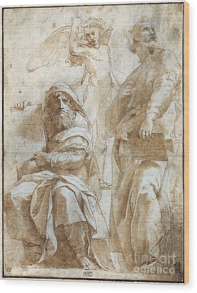 Raphael: Study, C1510 Wood Print by Granger