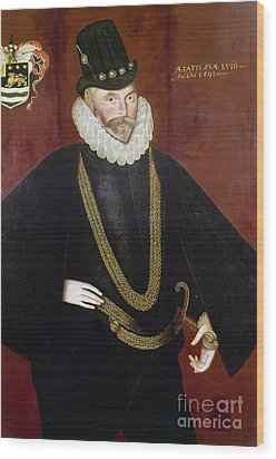 Sir John Hawkins Wood Print by Granger