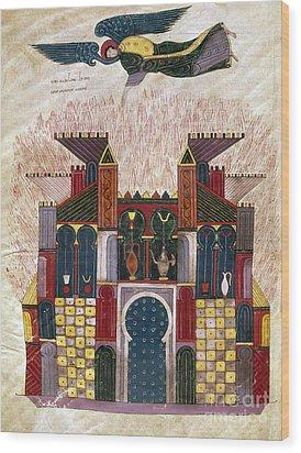 Facundus Beatus, 1047 Wood Print by Granger