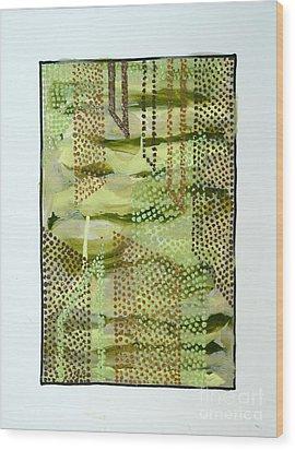 01328 Slide Wood Print by AnneKarin Glass