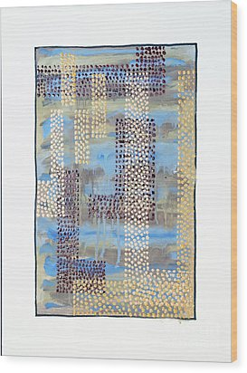 01334 Over Wood Print by AnneKarin Glass
