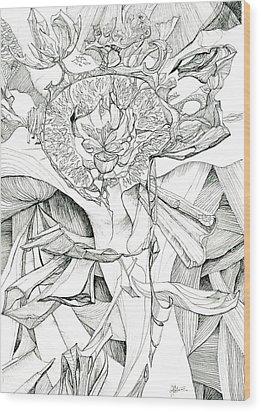 0811-26 Wood Print