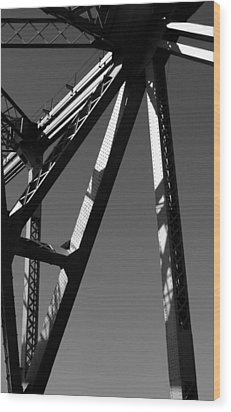 09001 Wood Print by Jeffrey Freund