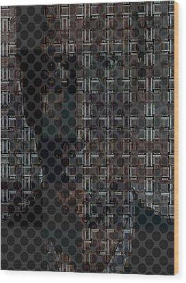 Untitled  Wood Print by Teodoro De La Santa