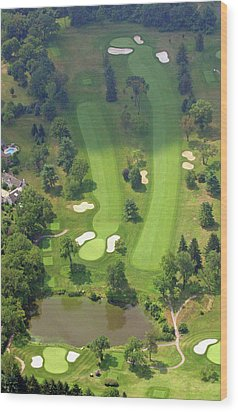 3rd Hole Sunnybrook Golf Club 398 Stenton Avenue Plymouth Meeting Pa 19462 1243 Wood Print by Duncan Pearson
