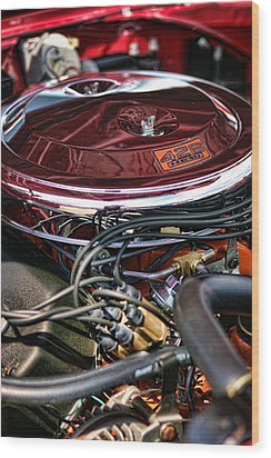 426 Hemi Wood Print by Gordon Dean II