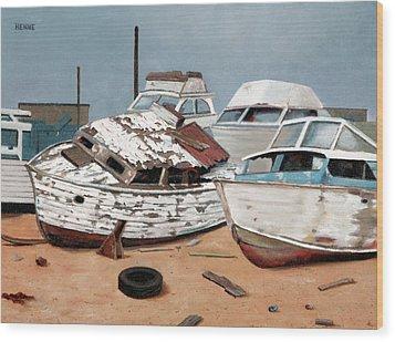 Abandoned Dreams Wood Print