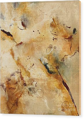 Abstract 130 Wood Print by Angelina Cornidez