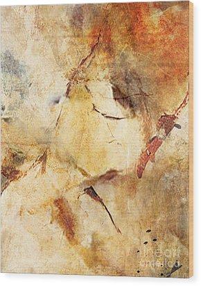 Abstract 131 Wood Print by Angelina Cornidez