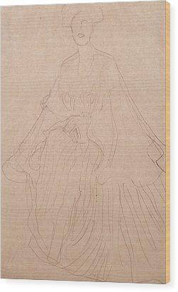 Adele Bloch Bauer Wood Print