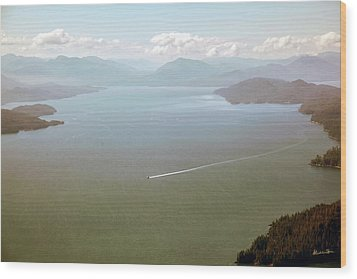 Wood Print featuring the photograph Alaska The Beautiful by Madeline Ellis