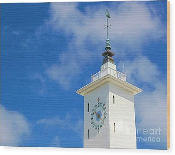 All Along The Watchtower Wood Print by Debbi Granruth