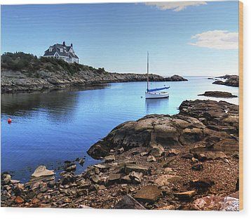 Wood Print featuring the photograph Almost Paradise Newport Ri by Tom Prendergast