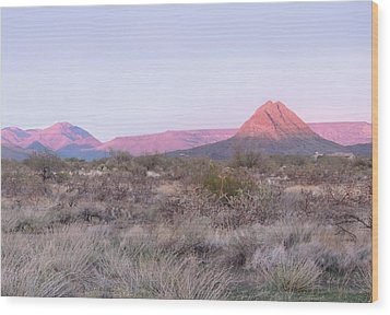 Wood Print featuring the photograph Almost Sundown by Gordon Beck