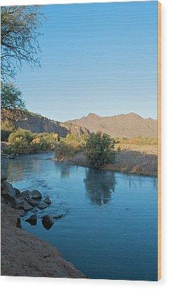 Along The Verde River 14 Wood Print by Susan Heller