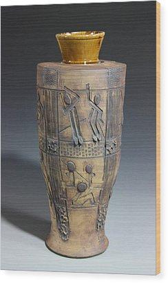 Ancient Windows Wood Print by Dan Earle
