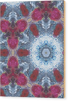 Arctic Blossom Wood Print