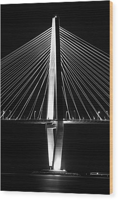 Arthur Ravenel Jr. Bridge  Wood Print by Dustin K Ryan