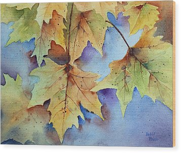 Autumn Splendor Wood Print by Bobbi Price