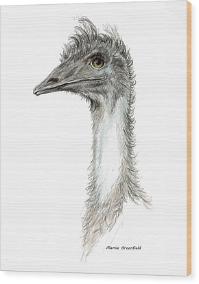Bad Leroy Brown The Emu Wood Print