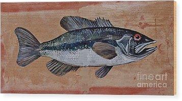 Bass Wood Print