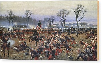 Battle Of Fredericksburg Wood Print by Granger