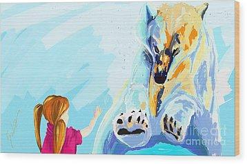 Bear Wood Print by Lidija Ivanek - SiLa