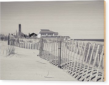 Wood Print featuring the photograph Beyond The Dunes by Colleen Kammerer