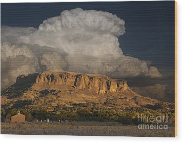 Black Mesa Wood Print by Keith Kapple