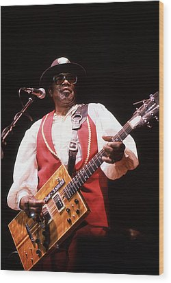 Bo Diddley Wood Print