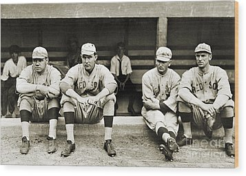 Boston Red Sox, C1916 Wood Print by Granger
