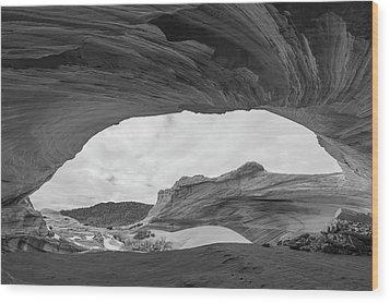 Boundless Wood Print by Dustin LeFevre
