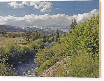 Breckenridge Colorado Wood Print