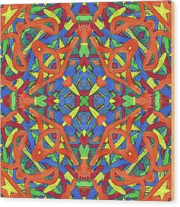 Brexit Soup -pattern- Wood Print