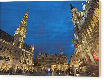 Brussels, Belgium Wood Print by Axiom Photographic