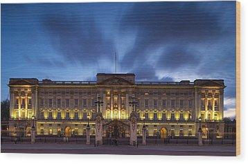 Buckingham Palace Wood Print by Stephen Taylor