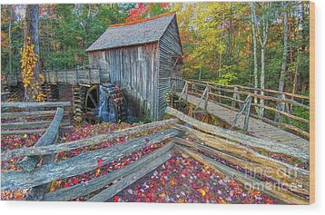 Cable Mill Wood Print