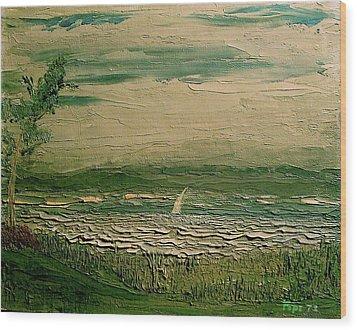 Calibogue Sound Wood Print