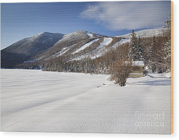 Cannon Mountain - White Mountains New Hampshire  Wood Print