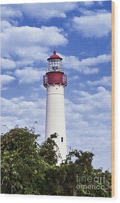 Cape May Lighthouse Wood Print by John Greim