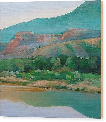 Chama River Wood Print