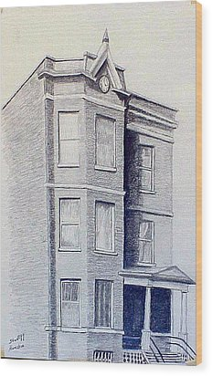 Chicago Apartment  Wood Print by Stan Hamilton