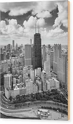 Wood Print featuring the photograph Chicago's Gold Coast by Adam Romanowicz