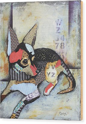 Chihuahua Wood Print by Patricia Lintner