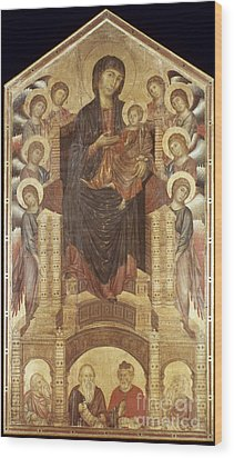 Cimabue: Madonna Wood Print by Granger