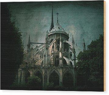 Citadel Wood Print by Andrew Paranavitana