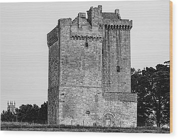 Clackmannan Tower Wood Print