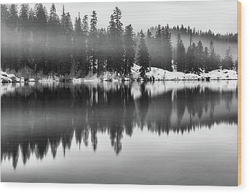 Wood Print featuring the photograph Clear Lake by Cat Connor