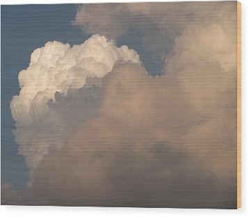 Wood Print featuring the photograph Clouds 3 by Douglas Pike