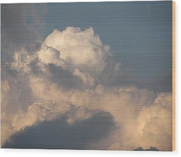 Wood Print featuring the photograph Clouds 4 by Douglas Pike